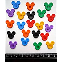 Disney SEW THRU MICKEY - Novelty Craft Buttons & Embellishments by Dress It Up