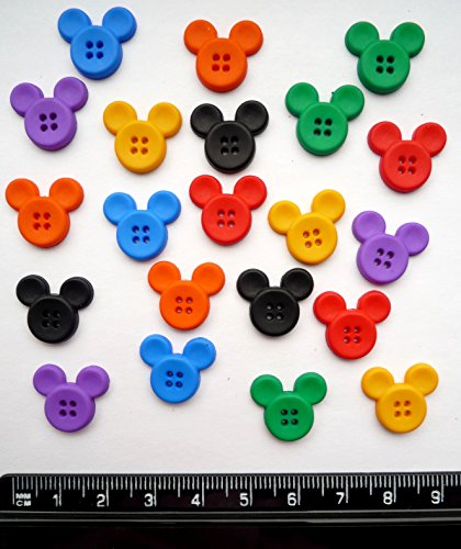 Disney Sew Durch Mickey-Neuheit Craft Tasten & Verzierungen von Kleid IT UP