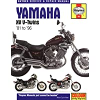 Yamaha XV V-Twins Service and Repair Manual (Haynes Service and Repair Manuals)