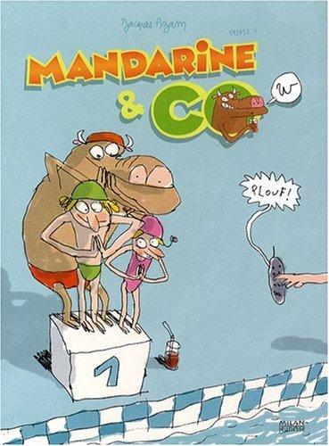 Mandarine & Cow, Tome 3 : Plouf !