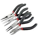 4-Teiliges Set Mini Zangen Set Werkzeuge für Schmuckherstellung Handwerk