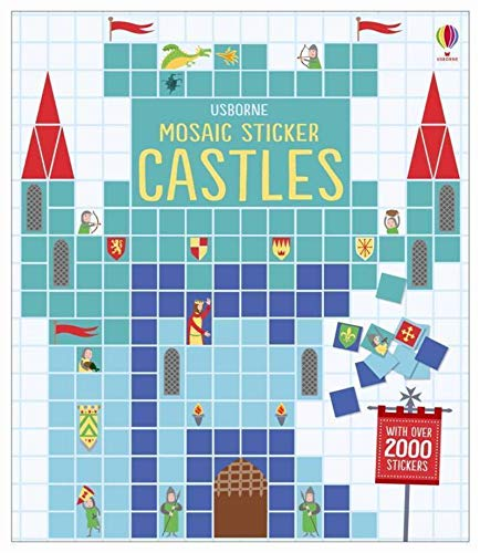 Mosaic Sticker Castles (Mosaic Sticker Books)