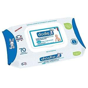 Dodie-Lingettes nettoyantes dermo-apaisantes douceur 3en1 x 70