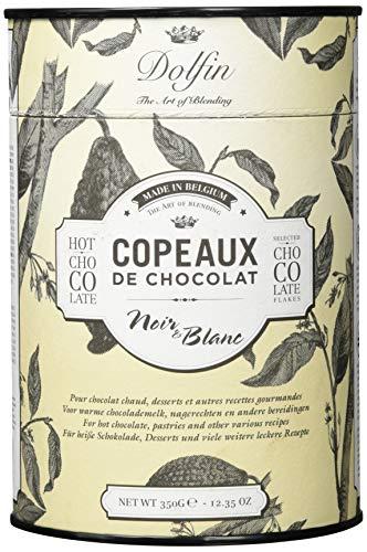 Dolfin Copeaux de Chocolat Trinkschokolade schwarz & weiß 350 gr.