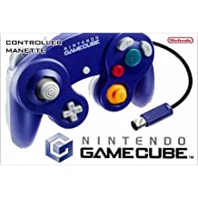 Manette Nintendo GameCube - Coloris Violet/Transparent