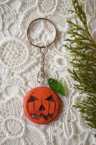 Jack Lantern Kostüm - Orange Kürbis Schlüsselbund Halloween