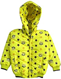 Come In Kids Boys Casual FullSleeve Printed Winter Wear Jacket