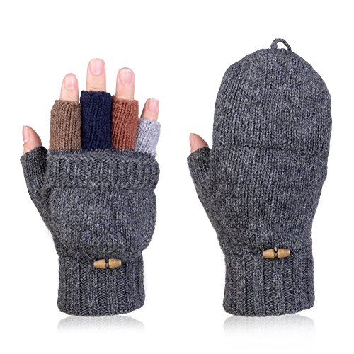 Vbiger Mens Womens Winter Gloves...