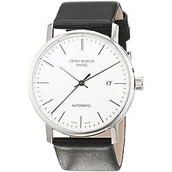 Zeno Watch Basel Herren-Armbanduhr XL Bauhaus Analog Automatik Leder 3644-i3