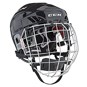 CCM Fitlite 60 Helm Combo Senior, Größe:M;Farbe:weiss