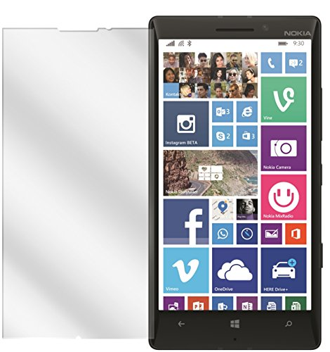 dipos I 2X Schutzfolie klar passend für Nokia Lumia 930 Folie Bildschirmschutzfolie