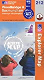 Woodbridge and Saxmundham (OS Explorer Map Active)