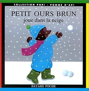 """Afficher """"Petit ours brun joue dans la neige"""""""