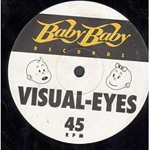 """VISUAL EYES 12 inch (12"""" Vinyl) UK BABY BABY 1993"""