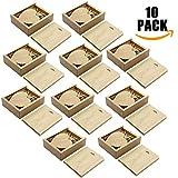 A Plus+ 10 Piezas Corazón Memoria USB de 32GB con Cajas de Madera (Engravable)
