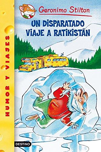 Odio viajar. ¿Qué hago aquí, en Ratikistan, a cuarenta grados bajo cero, con toda mi familia en una autocaravana de queso? Todo ha sido por culpa de mi abuelo, el fundador de la editorial? ¿Quién es Geronimo Stilton? ¡Soy yo! Soy un tipo distraído, c...