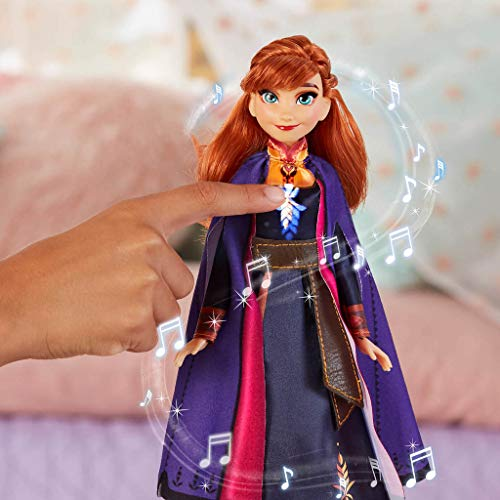 Frozen 2-  Muñeca Cantarina Anna (Hasbro E6853TG0)