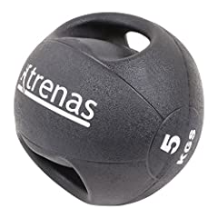 Idea Regalo - TRENAS - Palla medica con maniglie PRO - 5 kg