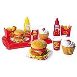 100% Chef Set hamburger, Confezione da 36 pezzi