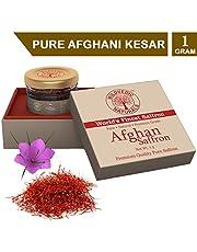 Wildvedic Naurals Afghani Kesar - 1gm (Premium A++ Grade Sa