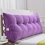 KB-Bettwäsche Gefülltes Dreieckiges Keilkissen, Rückenlehnen-Taillen-Stützkissen Für Bett-Stuhl-Sofa (Farbe : C, größe : 1.5M)