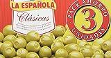 La Española Clásicas Aceitunas Rellenas de Anchoa - 3 Unidades