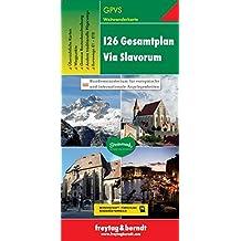 Freytag Berndt Wanderkarten, Via Slavorum I 26 (freytag & berndt Wander-Rad-Freizeitkarten)