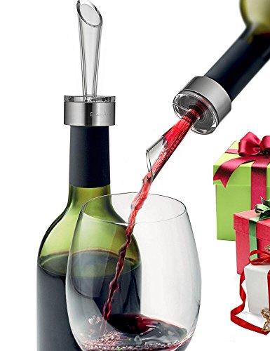 Enjoy-Arts Decantador de Vino Tinto, Aireador de Vino con Vertedor...