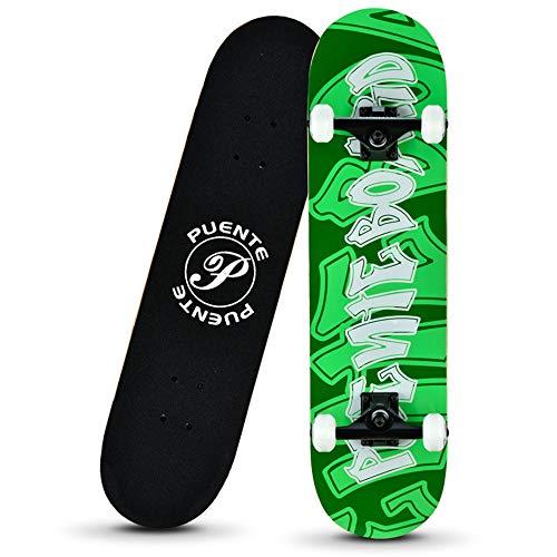 Brush Street Doppelt Gekrümmten Vierrädrigen Skateboard, Erwachsene Jungen Und Mädchen Kinder Roller, Anfänger Und Jugendliche Longboard,Springploughing
