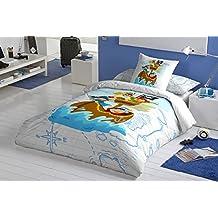 Funda nórdica Algodón 100% PIRATES (Para cama de 90x190/200 (Nórdico de 150))