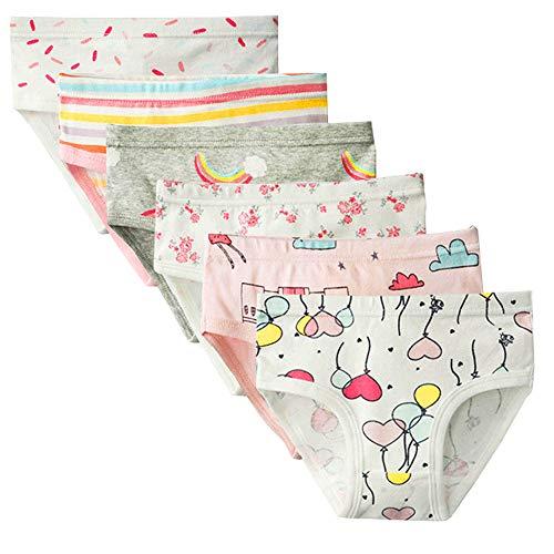 Slips Weiche Bequeme Unterhosen Unterwäsche Kleine Mädchen Verschiedene 100% Baumwollhöschen 1-7 Jahre (Color-1, 1-3 Years) ()