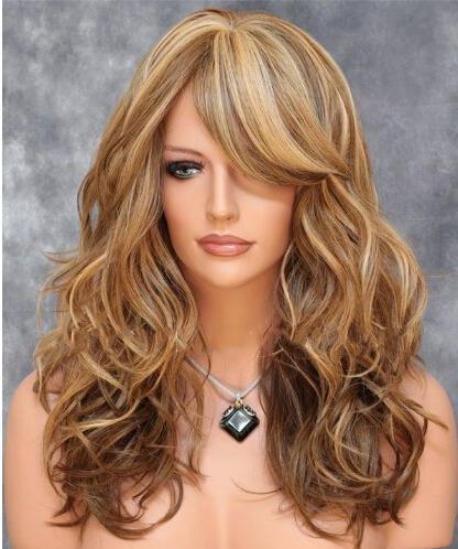Haute Qualité Européen et américain Fashion Perruques cheveux