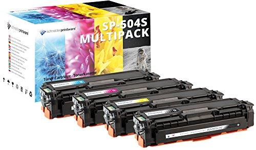 Preisvergleich Produktbild 4 Schneider Printware Toner | 35 Prozent höhere Druckleistung | als Ersatz für CLT-P504C, CLT-K504S, CLT-C504S, CLT-M504S, CLT-Y504S für Samsung CLP-410, CLP-415N, CLP-415NW, CLX-4190, CLX-4195FN, CLX-4195FW, CLX-4195N, Xpress C1810W, C1860FW ,schwarz,cyan,magenta,gelb