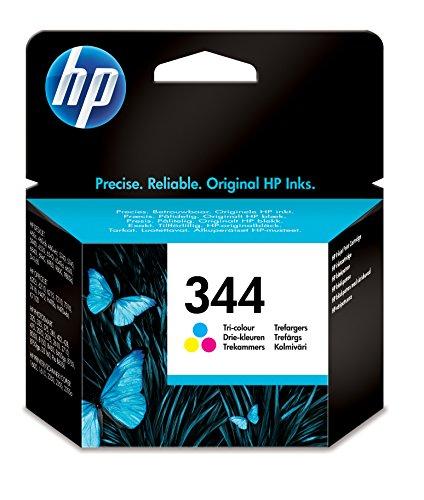 HP 344CMY Cyan, Magenta, Gelb Tintenpatrone-Tintenpatrone für Drucker (Cyan, Magenta, Gelb, HP DeskJet 6540, dreifarbig, Tintenstrahl, Blister, 10-70%) -