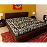 Ira Double Bed Medium Soft Cotton Mattress (4 Inch)