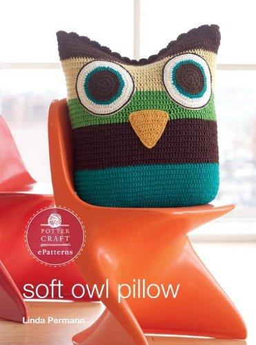 Soft Owl Pillow Pattern EPatterns Ebook