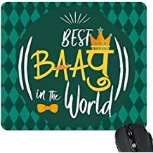 YaYa cafe Best Baapu in The World Printed Mouse Pad for Dad