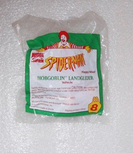 McDonalds Spider-Man Hobgoblin landglider steht # 81995Marvel Promo Toy by Spider-Man (Mcdonalds Spiderman)