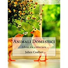 Animali Domestici: libro da colorare