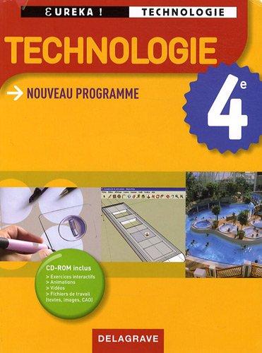 Technologie 4e (1Cédérom)