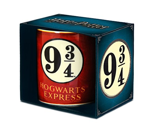 Harry Potter Tasse, Porzellan, Rot, 8 x 8 x 9.5 cm, 6-Einheiten