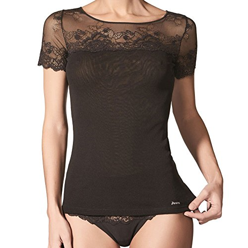JANIRA -  T-shirt - Donna Blu Indaco