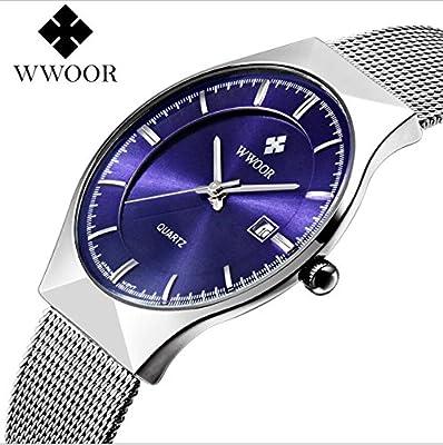 Genießen Armbanduhren Automatik Chronograph Uhr Edelstahl Uhrarmband Elegant