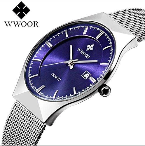 Genieen-Armbanduhren-Automatik-Chronograph-Uhr-Edelstahl-Uhrarmband-Elegant