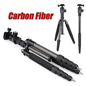 IDLB DiC et micro E302C noir en fibre de carbone Trépied Professionnel Manfrotto pour appareil photo reflex numérique portable / support de la caméra / Mieux que Q666C DHL