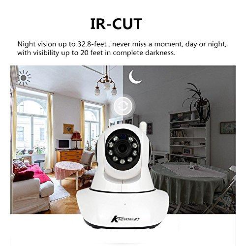 720P HD IP Kamera Wireless Wifi Sicherheit ONVIF Innen Nachtsicht Netzwerk Baby Monitor Von KNEWMART - 5