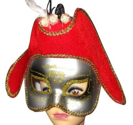 zen Maske - Prinzessin Halloween Verkleidung ()