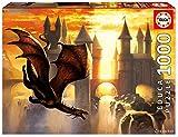 Educa 17312.0 - Puzzle - 1000 Sunset Dragon, Ciruelo