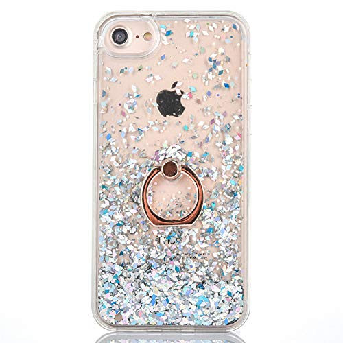 GuardGal Coque pour iPhone XR 6.1 inch Cadre en TPU+Fond du PC Housse Protection Bumper Antichoc Case Cover Coques /Étui de t/él/éphone Paillettes pour iPhone XR 6.1 inch Or
