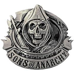 Sons of Anarchy Grim Reaper motorista de Metal hebilla de cinturón